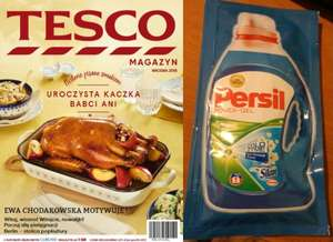 Płyn, żel Persil 73ml do prania gratis do Magazynu Tesco