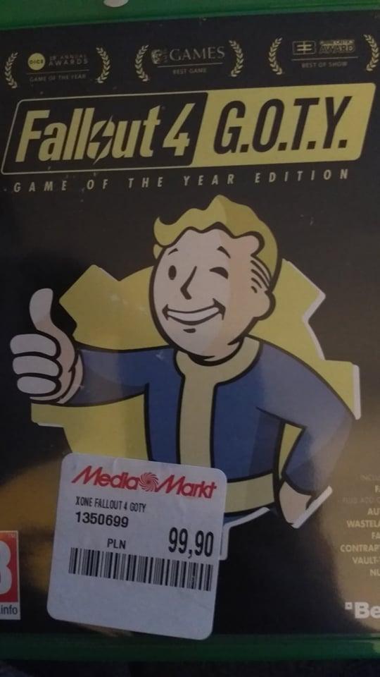 Fallout 4 GOTY xbox one mediamarkt