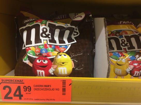 M&m's 1 kg czekolada/orzech