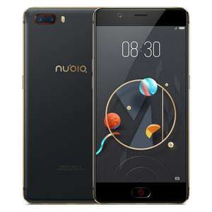 "Nubia M2 5.5"" FHD Snapdragon 625 2.0GHz 4GB 128GB 13.0MP - $199.99"