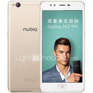 "NUBIA M2 Lite 5.5 ""  3GB + 64GB 13MP MediaTek MT6750 3000mAh"