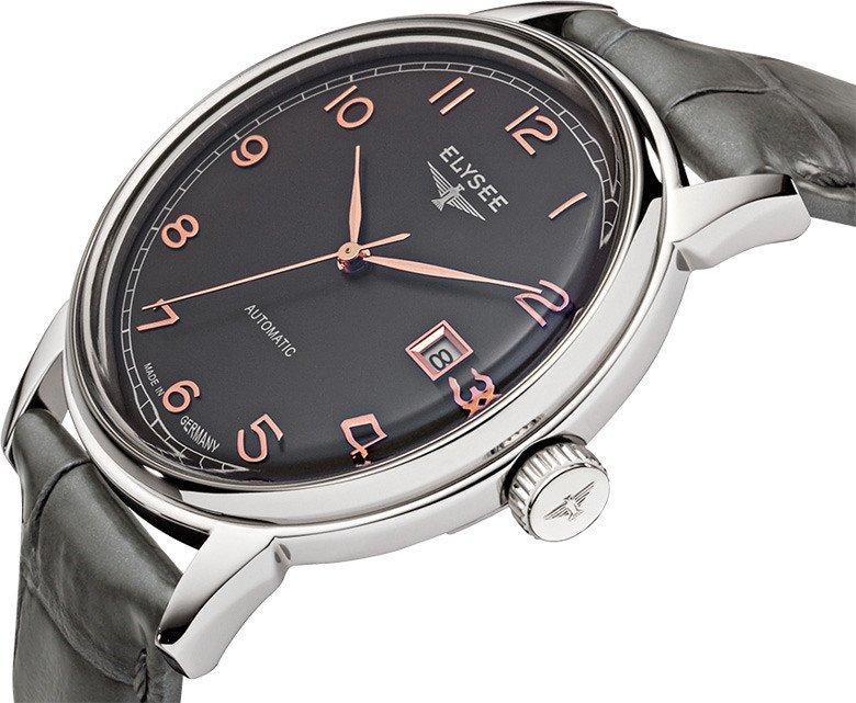 Zegarek Elysee Vintage Master  80547 lub 80546 - szkiełko powlekane szafirem, automat