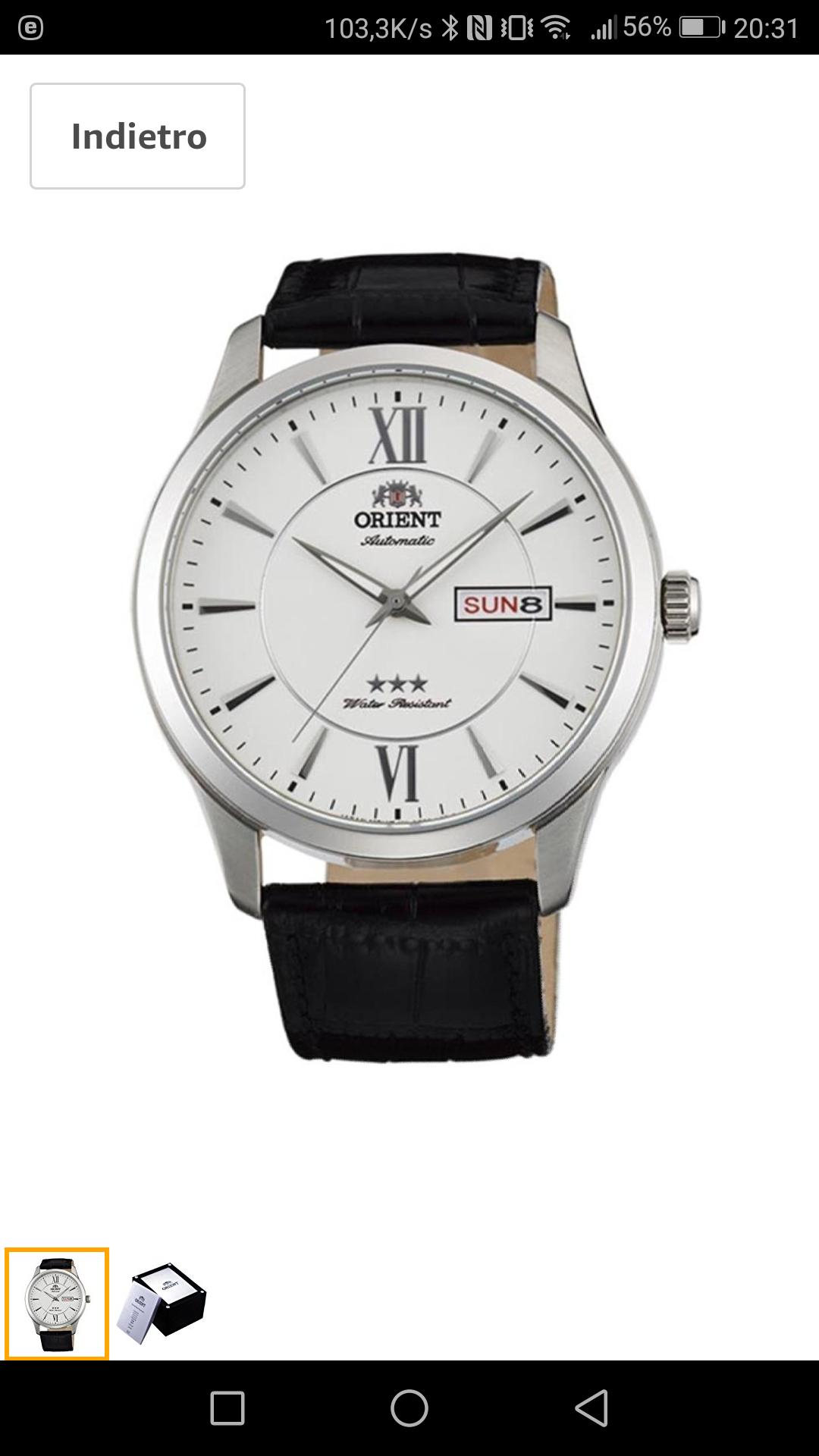 Zegarek Orient FAB0B003W9 Automat