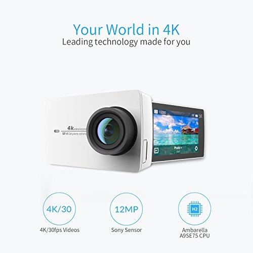 Kamera YI 4 K w białej wersji na Amazon.de