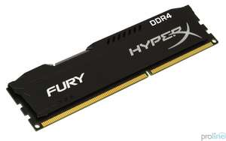 Pamięć HyperX 8GB DDR4-2400 CL15 Fury (Proline HeadShot)