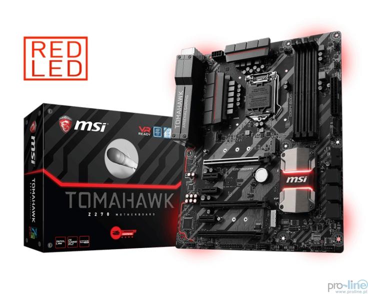 Płyta Główna MSI Z270 TOMAHAWK DDR4 1151 (Proline HeadShot)