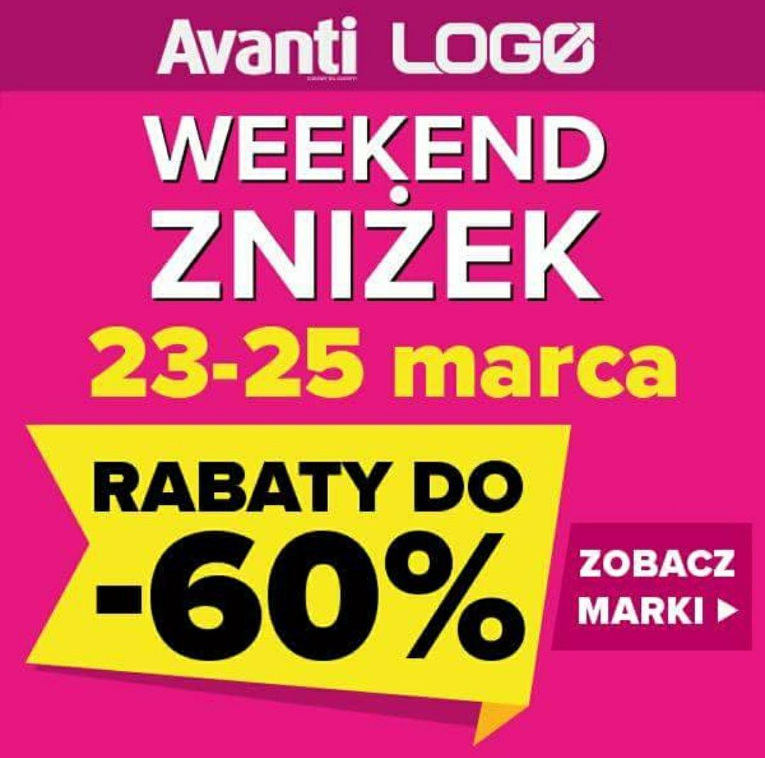 Weekend zniżek z Avanti i Logo