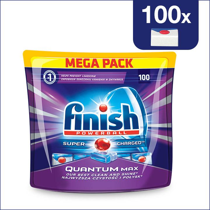 Finish Quantum Max - 100 szt - Tabletki do zmywarki