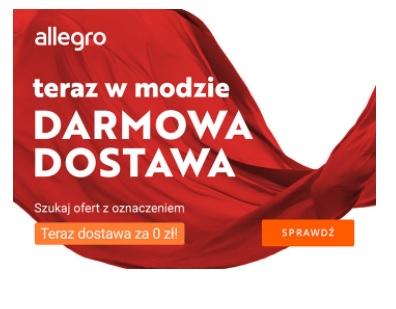Allegro darmowa dostawa w dziale moda! 30 marca - 2 kwietnia