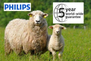 Philips przedłuży gwarancję o 3 lata* Więc 5 lat gwarancji! Na odkurzacze