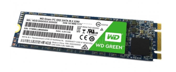 WD Green SSD M.2 120GB @Komputronik