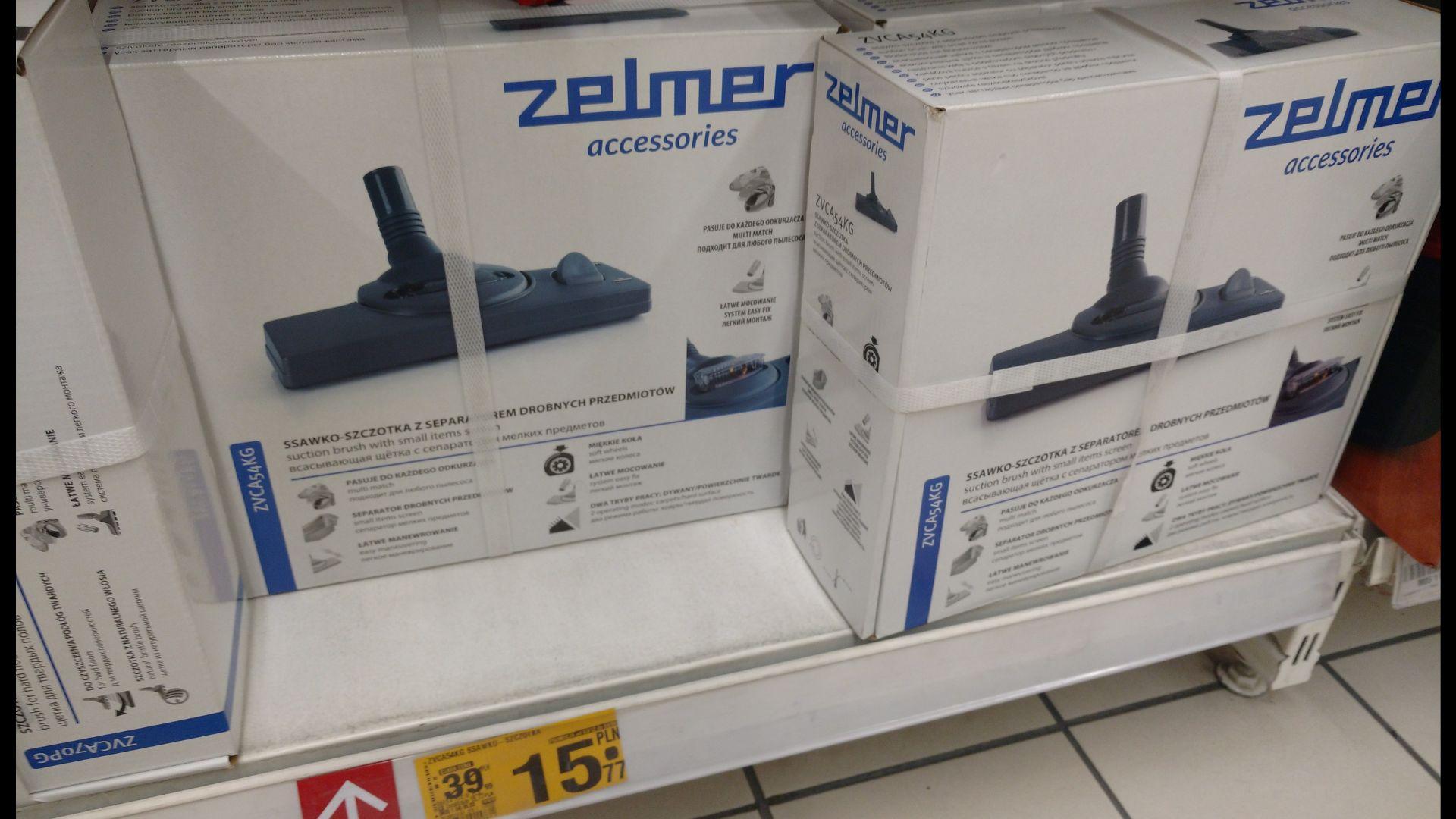 Zelmer szczotka do odkurzacza Zabrze Platan Auchan