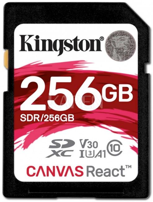 Nowa karta pamięci KINGSTON CANVAS 256GB w niespotykanie niskiej cenie.
