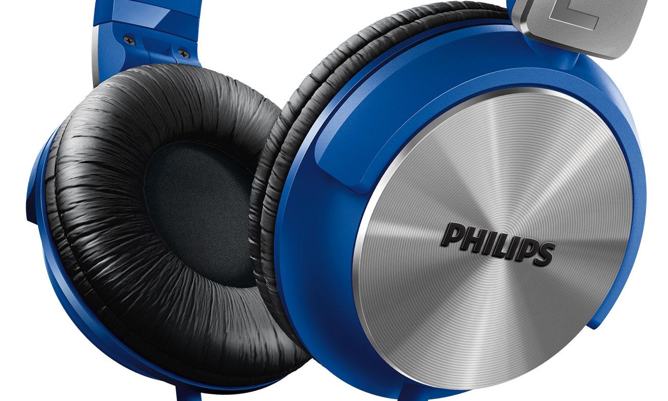 x kom Słuchawki Phlips SHL3165BL Niebieskie
