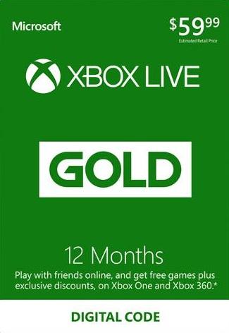 XBOX LIVE 12 miesięcy i wiele innych