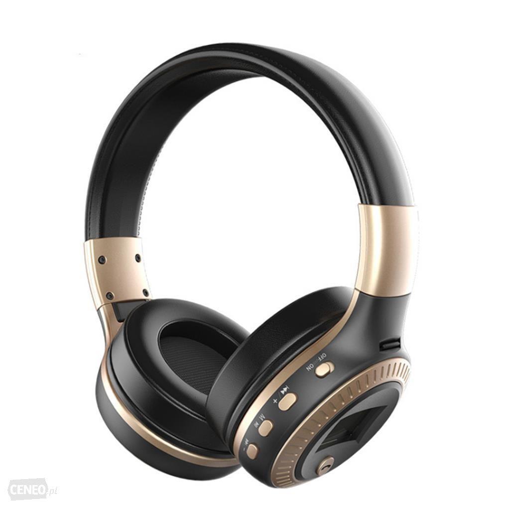 Słuchawki bluetooth nauszne z mikrofonem Zaelot B19