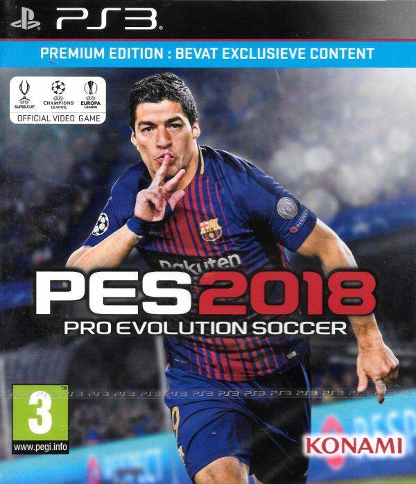 PES 2018 premium PS3