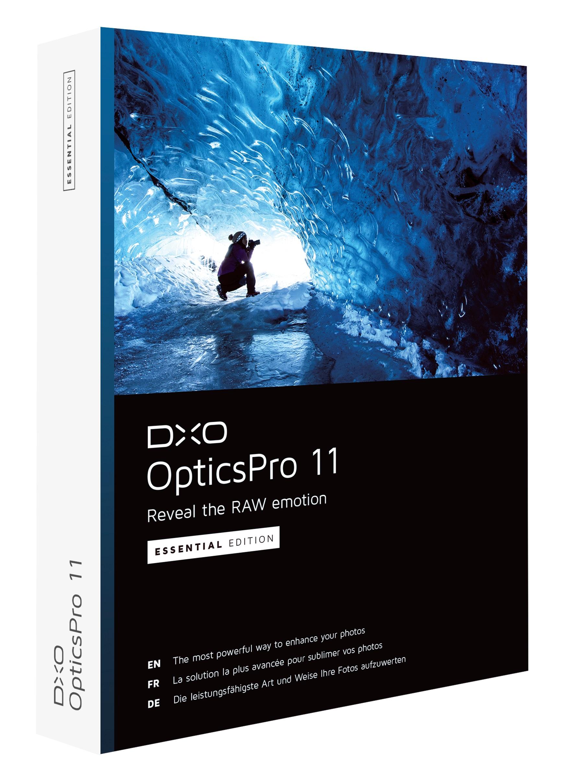 DxO OpticsPro 11 Essential (program do obróbki zdjęć) za darmo