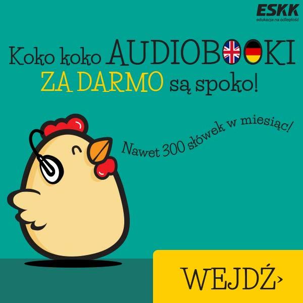Audiobooki językowe za darmo