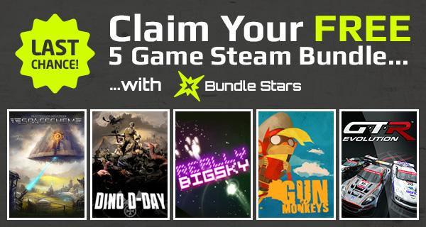 DARMOWY pakiet 5 gier @ Bundle Stars