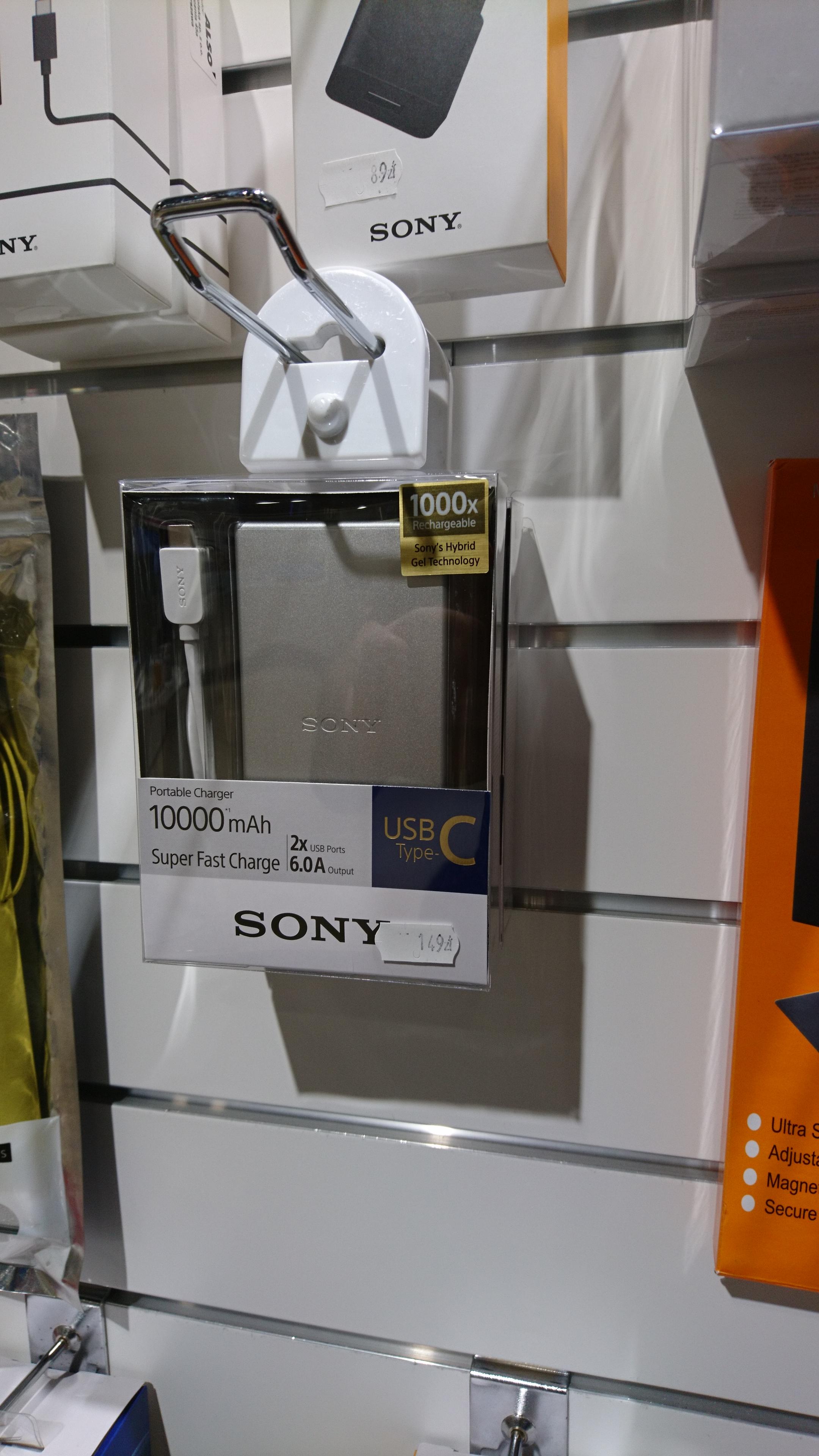 Power bank Sony 10 000 USB C x2