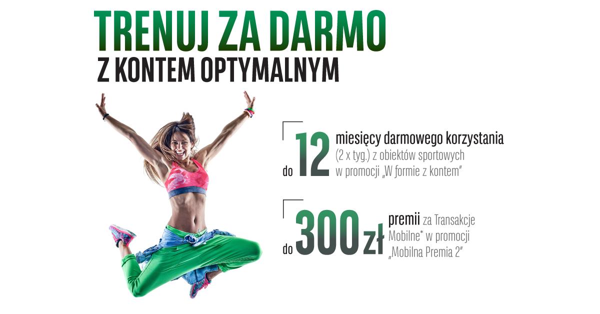 Karnety sportowe o wartości 756 zł i do 300 zł za płatności mobilne w BGŻ BNP Paribas
