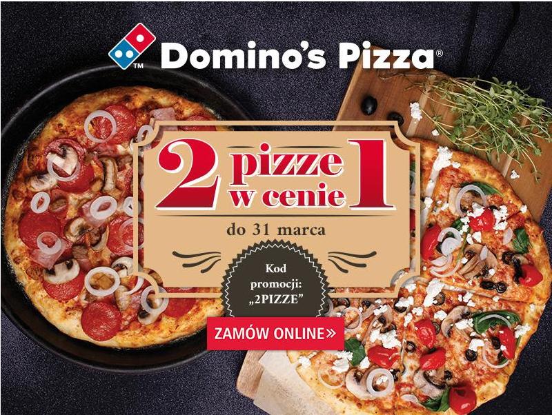 Domino's Pizza - 2 pizze w cenie jednej