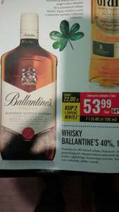 Whisky ballantines 2 l w Biedronce