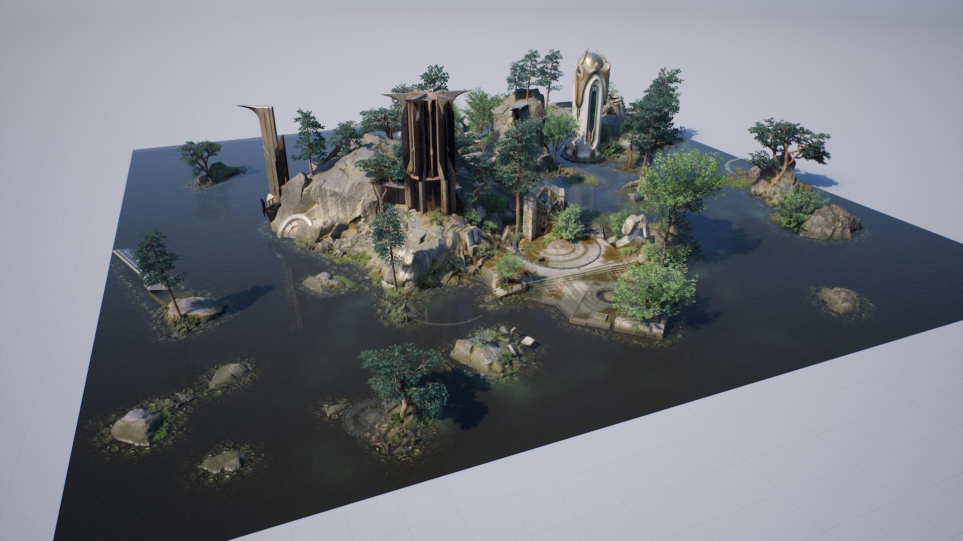 Darmowe assety od Epic z gry paragon (Unreal Enigne 4 / UE4)