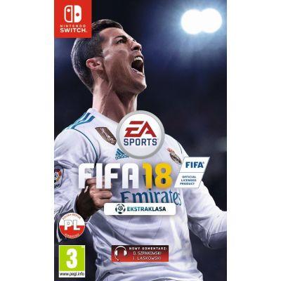FIFA 18 na Nintendo Switch za 119,99zł + wysyłka @ Konsole i Gry