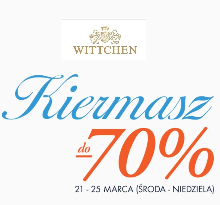 Wielki kiermasz w Wittchen - sklepy stacjonarne i internetowy do -70% + dodatkowy rabat -10 zł z kodem