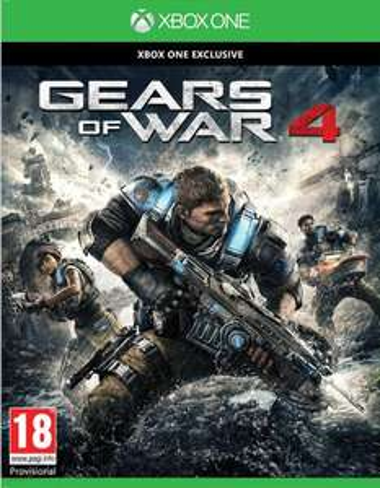 Gears of War 4 na Xbox One