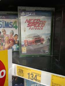 Need for Speed Payback @ Auchan (Wrocław)