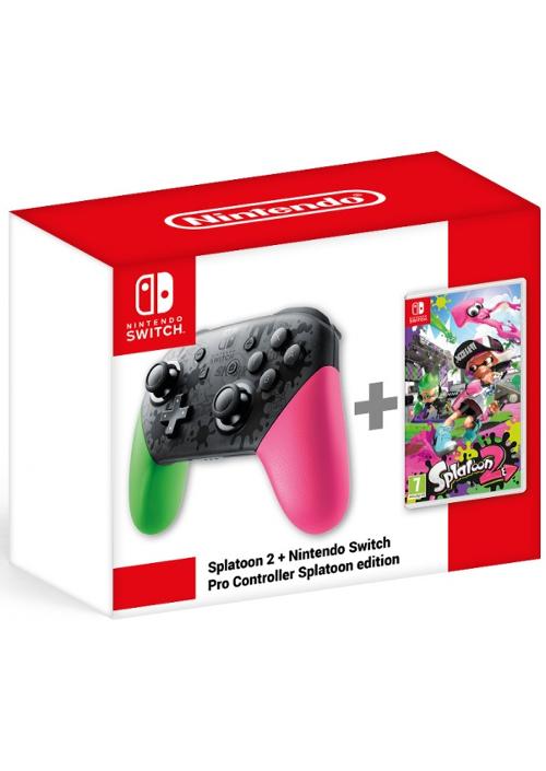 Splatoon 2 + Kontroler Nintendo Switch Pro Controller Splatoon