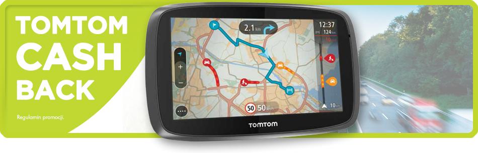 (Cashback) Zwrot gotówki za zakup nawigacji GPS TomTom @ TomTom