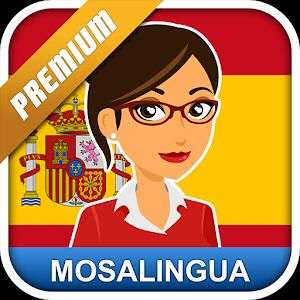 Aplikacja Google Play: MosaLingua Hiszpański Premium