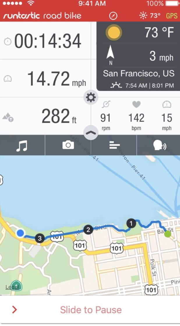 Runtastic Road Bike Pro za darmo w AppStore!