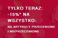 Zalando: 15% rabatu na wszystkie produkty (MWZ: 300zł)