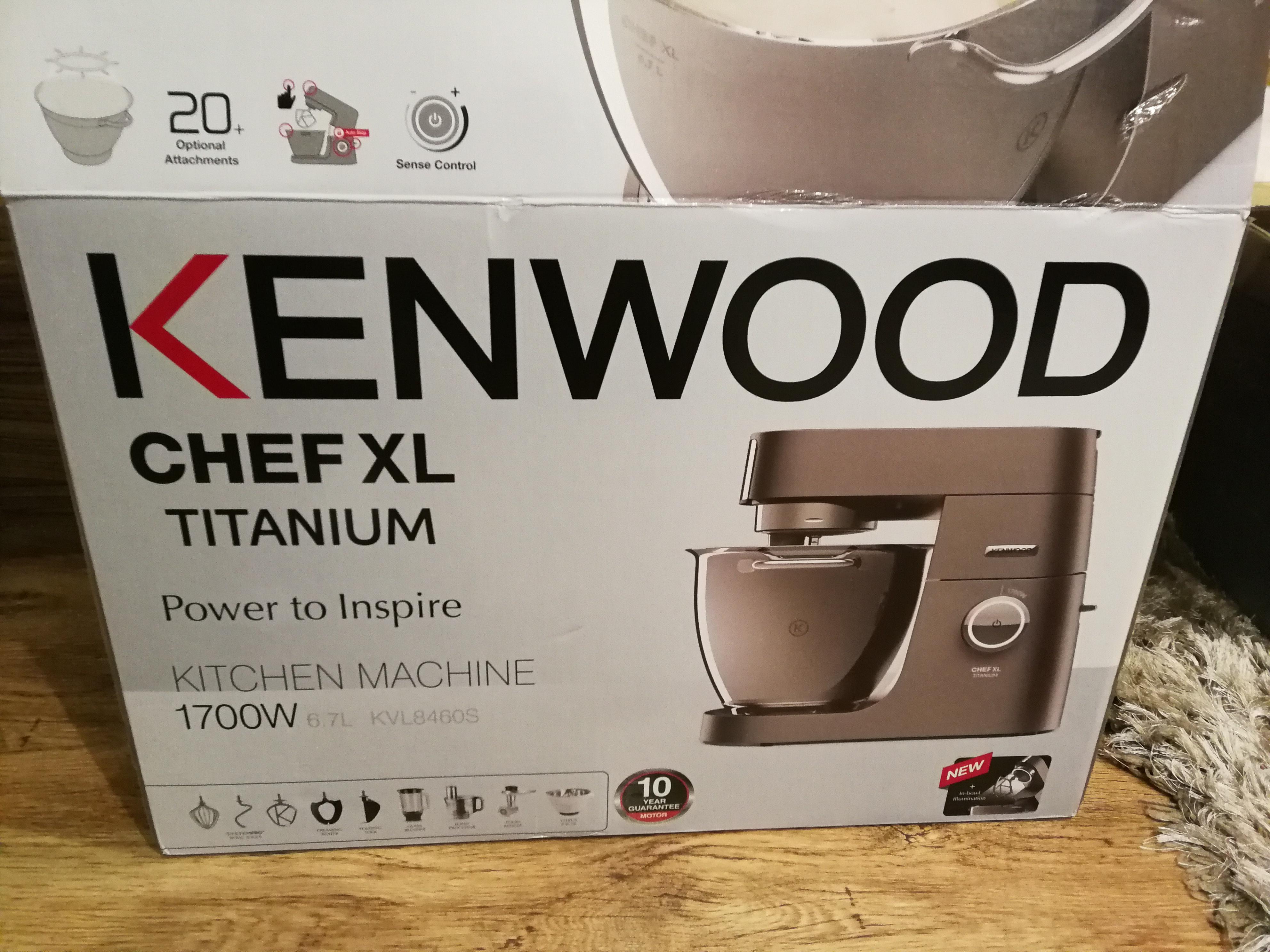 Kenwood Chef XL Titanium KVL8460S