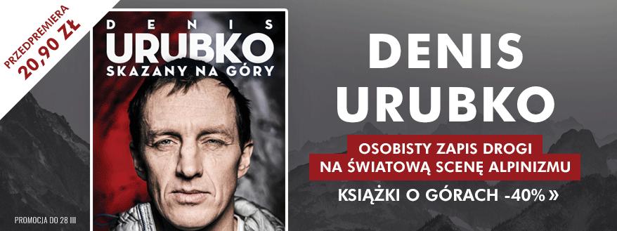 """Przedpremiera książki: Denis Urubko """"Skazany na góry"""". Ebook za 20,90 zł i inne ebooki o alpinizmie @ Publio"""