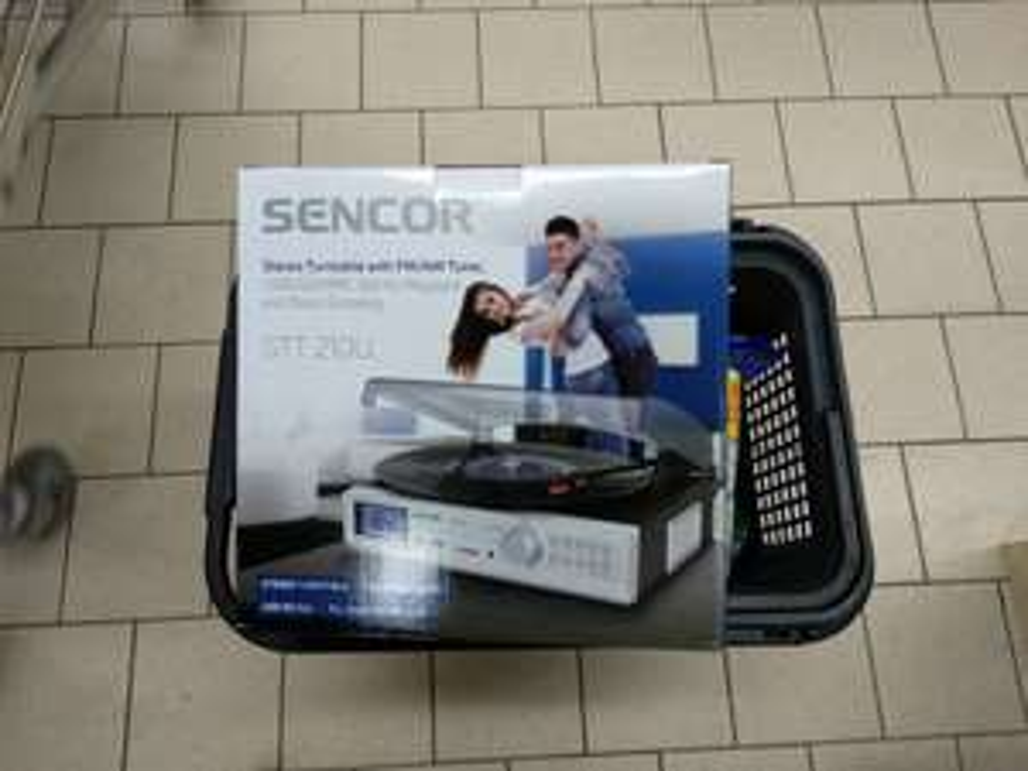 Kaufland Sencor 210U gramofon za grosze