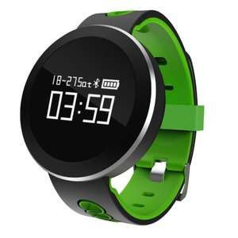 Bakeey Q7 - smartwatch OLED z pulsoksymetrem, BT