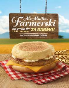 McMuffin Farmerski za DARMO @ McDonald's