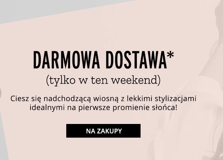 Darmowa dostawa do zakupów od 30zł @ Orsay