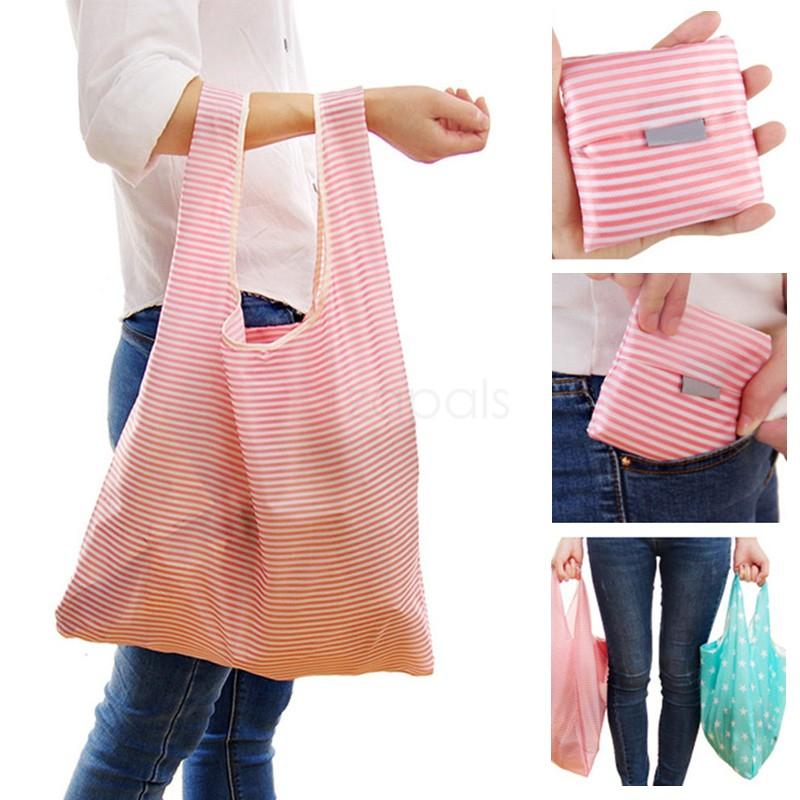 Poręczna torba na zakupy - wielokrotnego użytku.