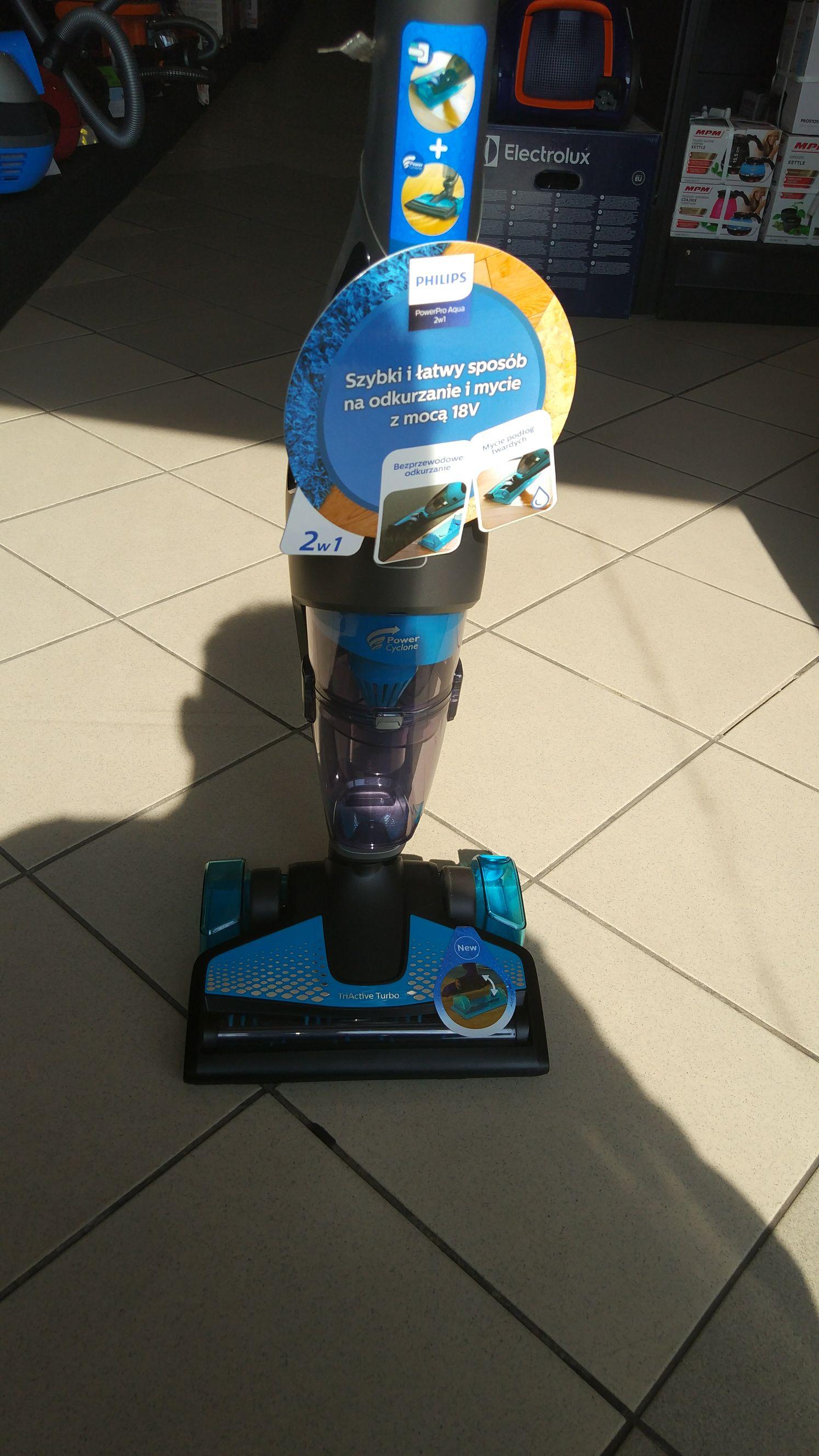 Odkurzacz bezprzewodowy Philips power pro aqua