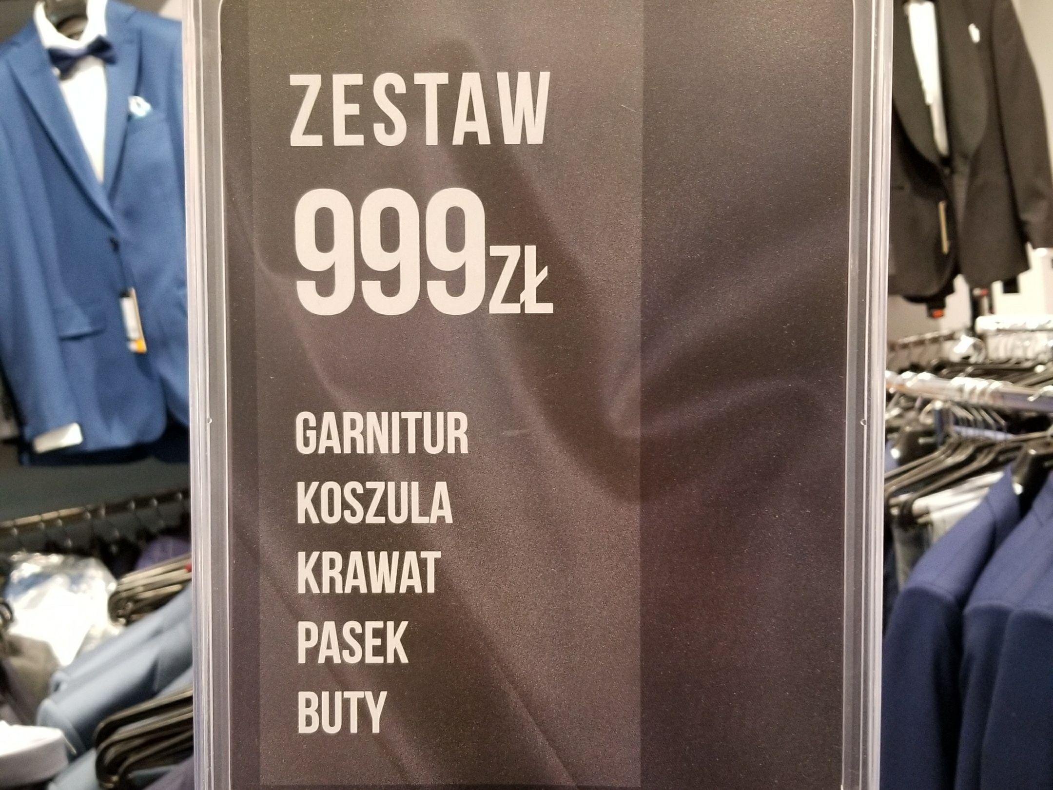 BYTOM zestaw z garniturem Factory Outlet Luboń
