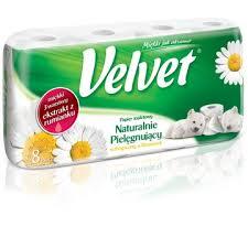 Papier toaletowy Velvet, 16 rolek za 11,99zł @ Tesco