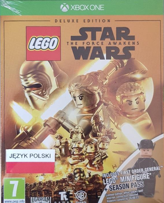 LEGO STAR WARS PRZEBUDZENIE MOCY  z Season Pass oraz FIGURKĄ LEGO :)