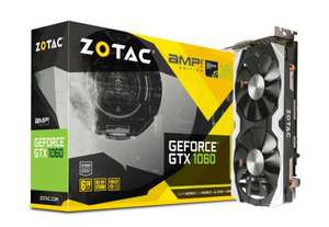 GeForce GTX 1060 6GB HDMI DVI DisplayPort AMP Zotac
